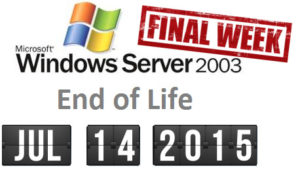 server 2003 end of life
